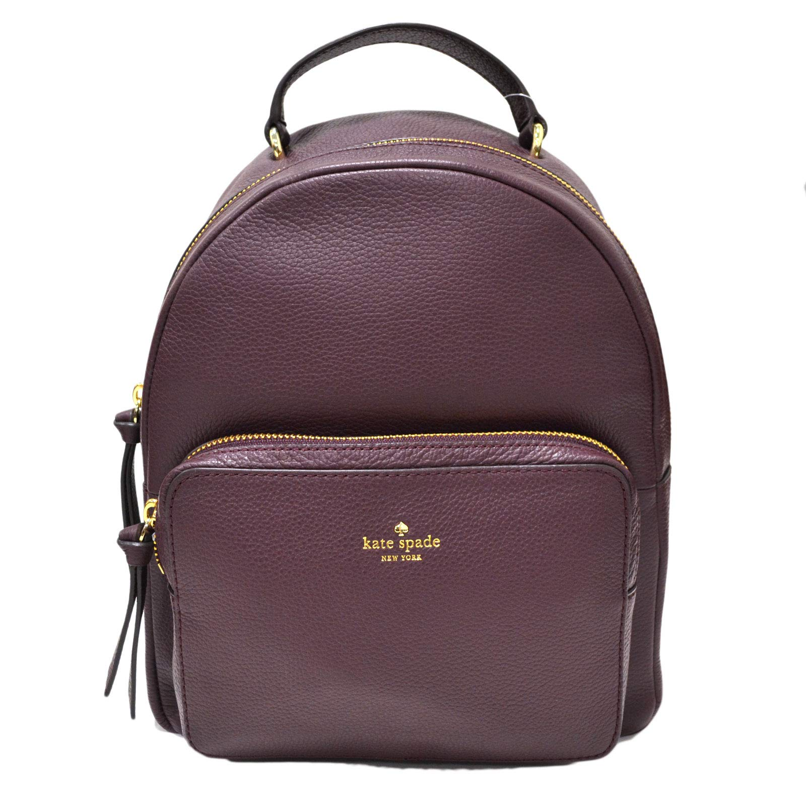 Kate Spade New York Larchmont Avenue Mini Nicole Backpack Purse (Deep Plum)