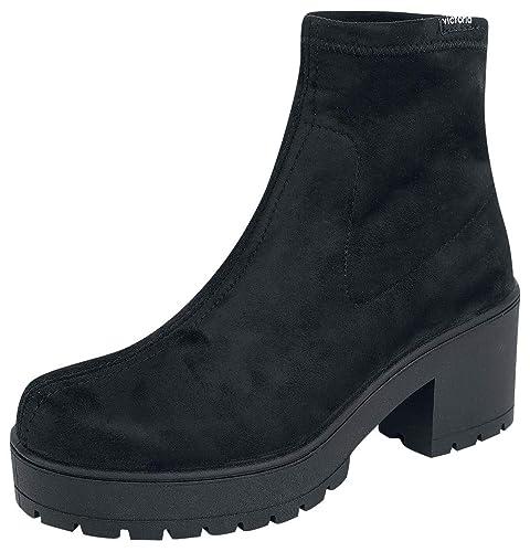 Victoria Botines de Mujer con tacón 095123: Amazon.es: Zapatos y complementos