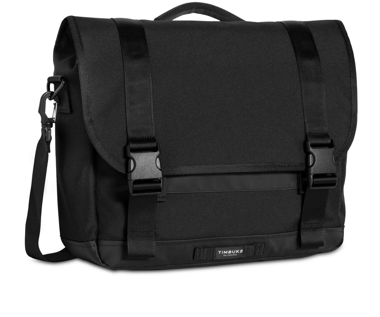 Timbuk2 Commute Messenger Bag 2.0, Jet Black, Large