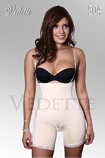 3873aac2ac6 Image Unavailable. Image not available for. Color: Vedette 504 Full Body  Shaper ...