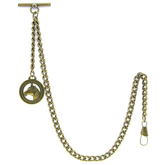 Amazon com: Albert Chain Pocket Watch Curb Link Chain