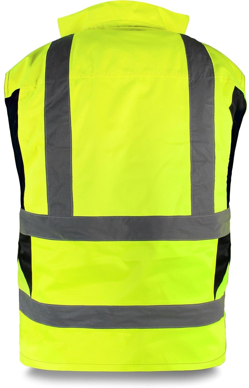 normani Outdoor S-4XL /& Arbeitsbekleidung LeiKaTex Warnschutzweste