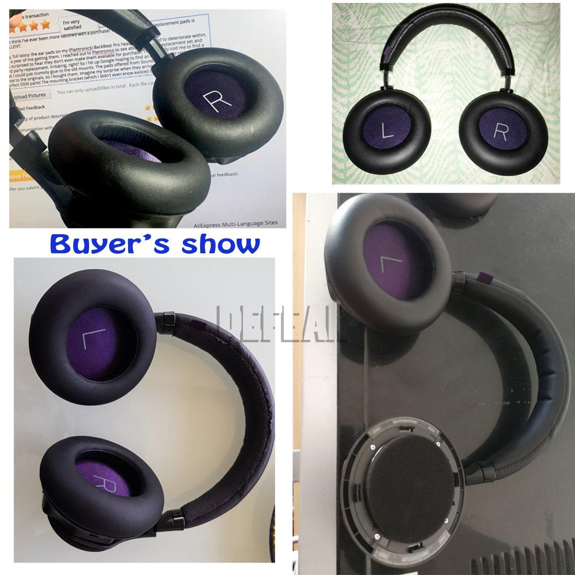 Almohadillas cojín para Plantronics Backbeat Pro inalámbrico auriculares auriculares Gary: Amazon.es: Electrónica
