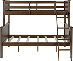 Better Homes and Gardens Ashcreek Twin/Full Bunk Bed - Mocha