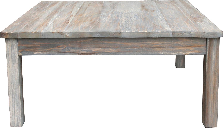 - Amazon.com: Teak Grey Wash Rustic Coffee Table 48