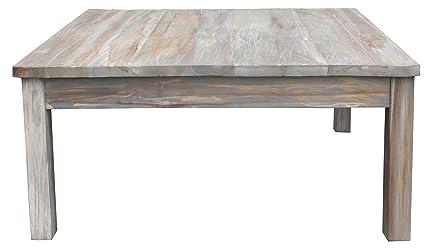 48 X 48 Coffee Table.Amazon Com Teak Grey Wash Rustic Coffee Table 48 X 32 Made By
