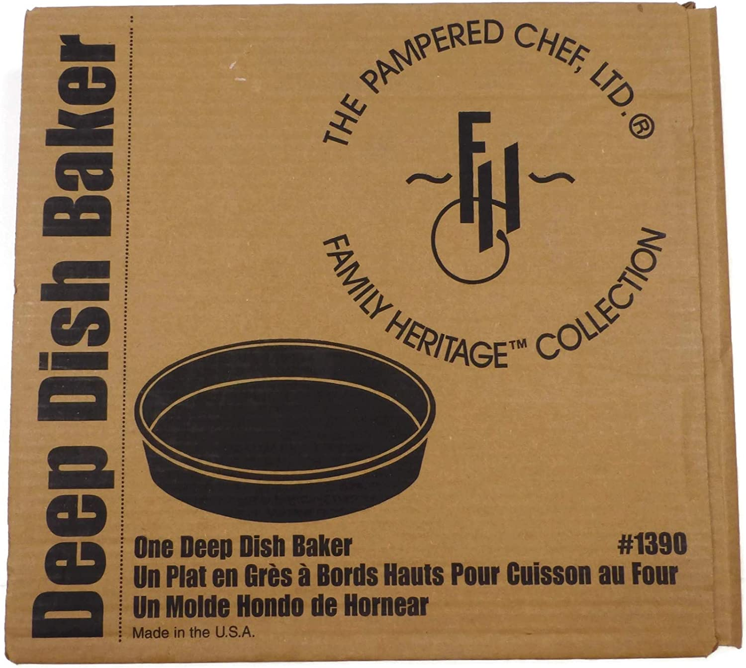 Pampered Chef Deep Dish Baker