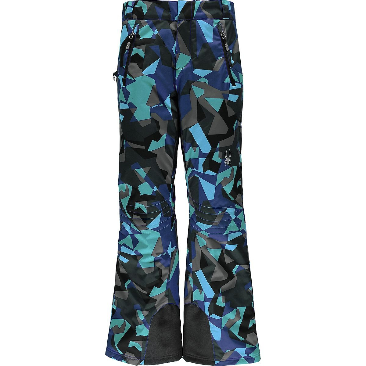 Baltic Camo Print Spyder Women's Winner Athletic Fit Ski Pant