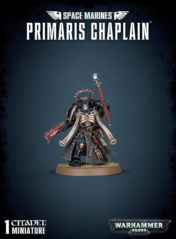 Primaris Chaplain on Bike Space Marines Warhammer 40K NEW IN BOX Astartes Marine