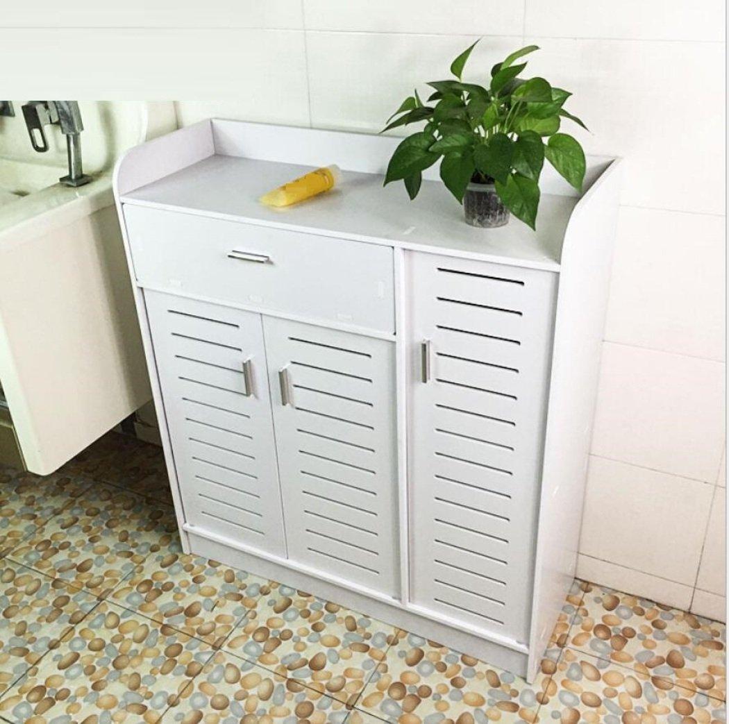GL&G Bathroom Furniture Toilet side cabinet Floor Cabinets Bedroom, bathroom cabinet shelves waterproof cabinet lockers,A