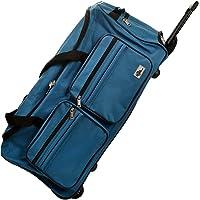 DEUBA Reisetasche   mit Trolleyfunktion   Rollen mit Kugellager   Teleskopgriff   abschließbar -【Farb-und Größenauswahl】 Sporttasche Reisetrolley Gepäcktasche