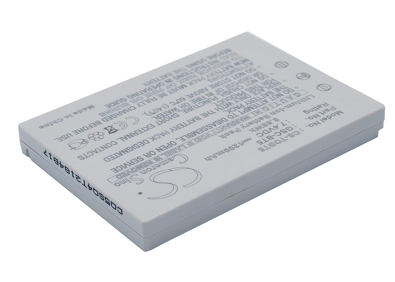 Cameron Sino Rechargeble Battery for Toshiba Gigashot gsc-r60 B01B5JO6RW