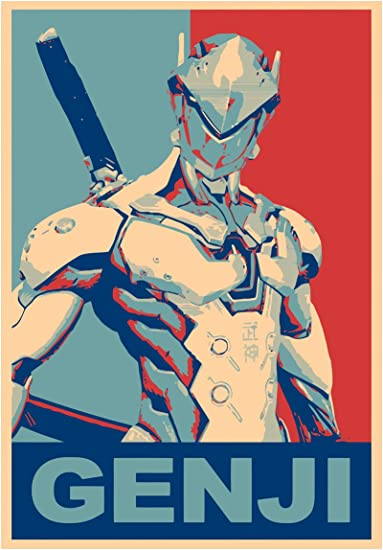 22x34 VIDEO GAME 16691 Free Shipping CHARACTER PORTRAITS POSTER OVERWATCH