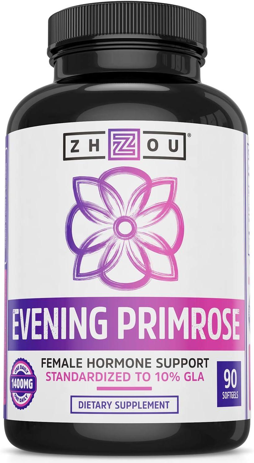Amazon.com: Cápsulas de aceite de prímula nocturna - Soporta ...