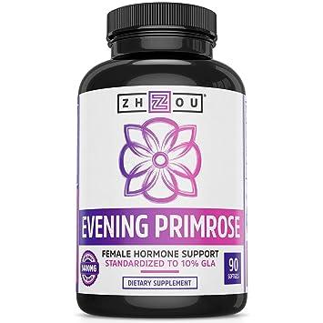 Amazon.com: Aceite de Primrose de Noche para Mujer-1400 mg ...