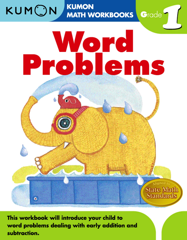 Word Problems Grade 1 Kumon Math Workbooks Kumon