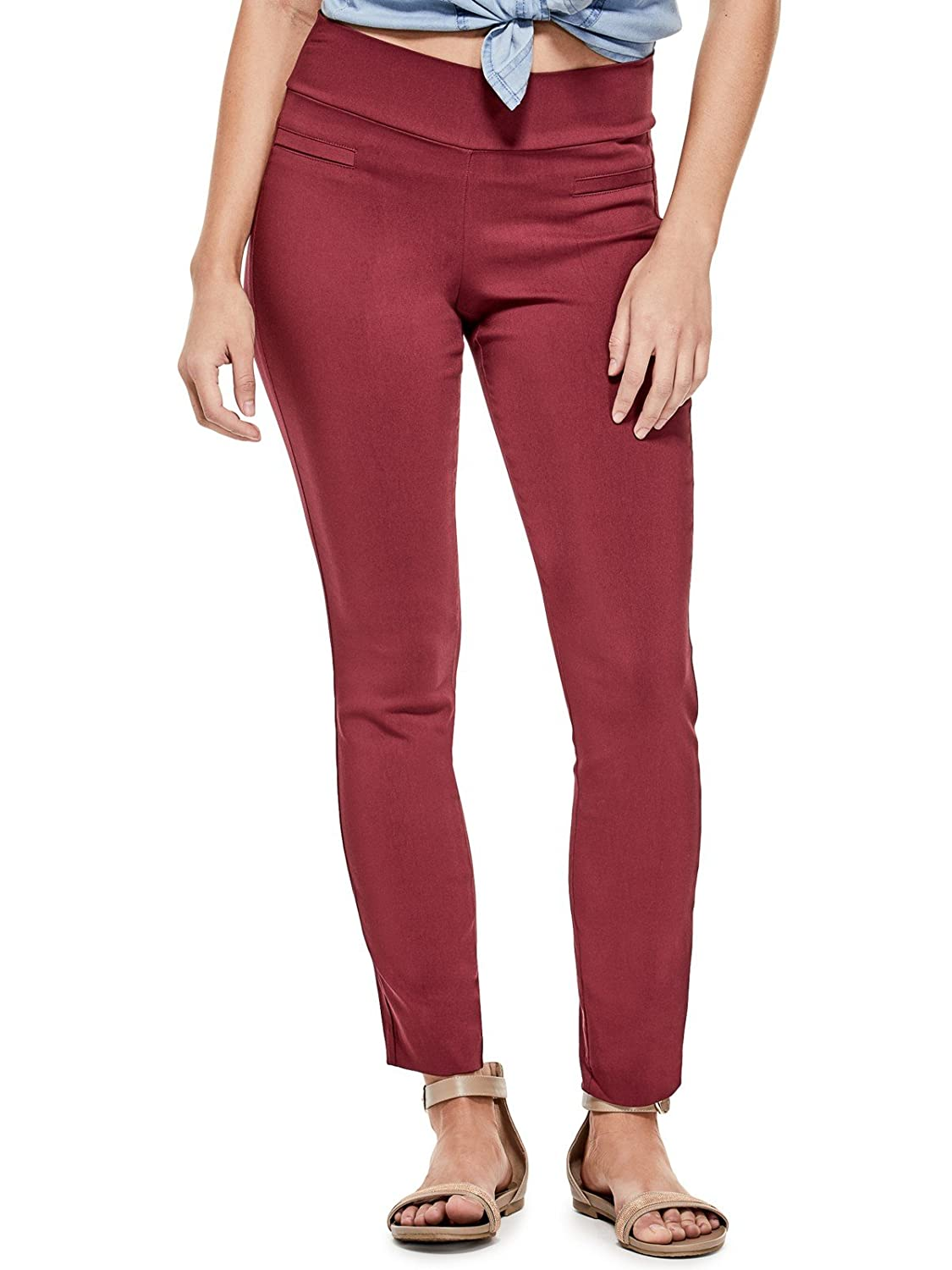 Guess Factory Women's Beatrix Super-Stretch Pants GuessFactory