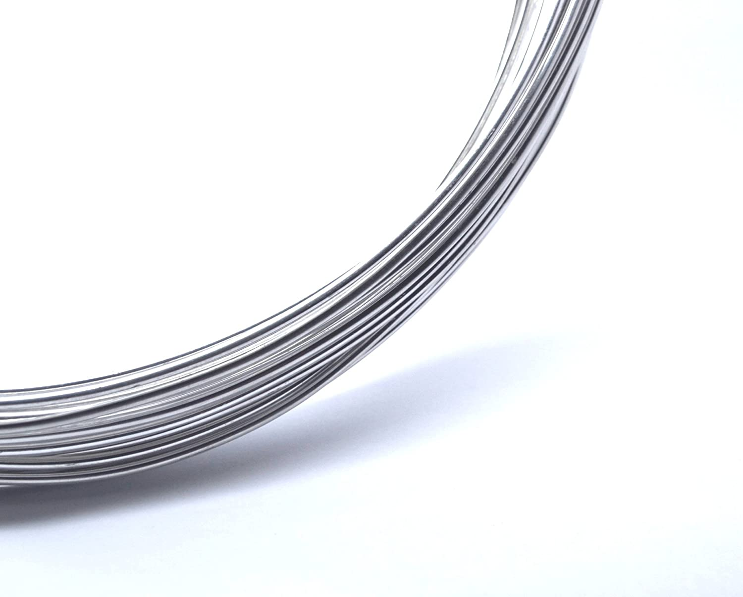 10 Metres x 2mm Aluminum Armature Wire - Modelling Craft Beading Florist Jewellery Soft Aluminium Wire - Bead Boutique sw