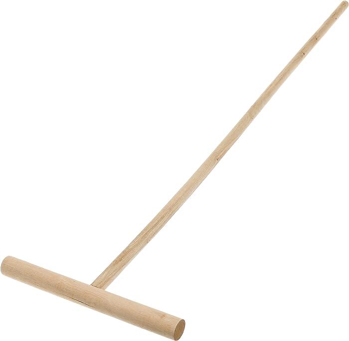 IMUSA USA I522-28 Cuban Wood Mop Stick