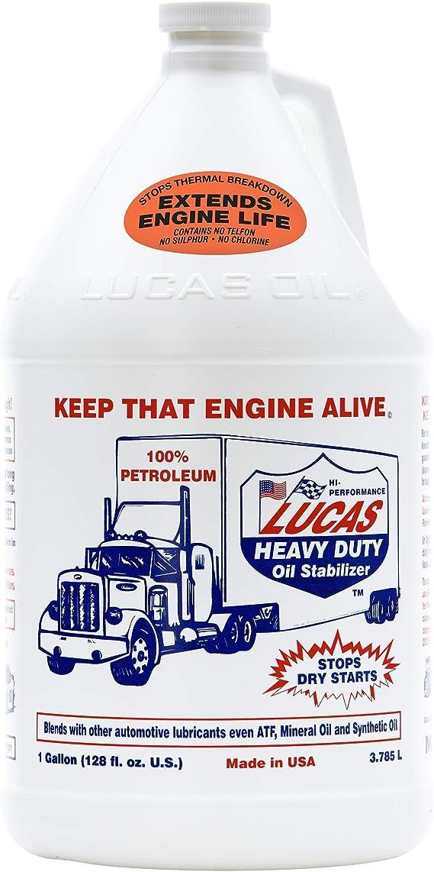 Lucas Oil 10002 Heavy Duty Oil Stabilizer