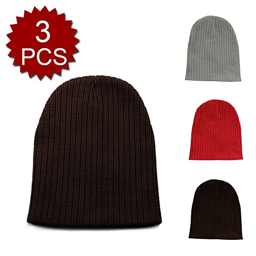 Amazon Opromo Kids Boys Girls Hat Cool Knit Basic Beanie Warm