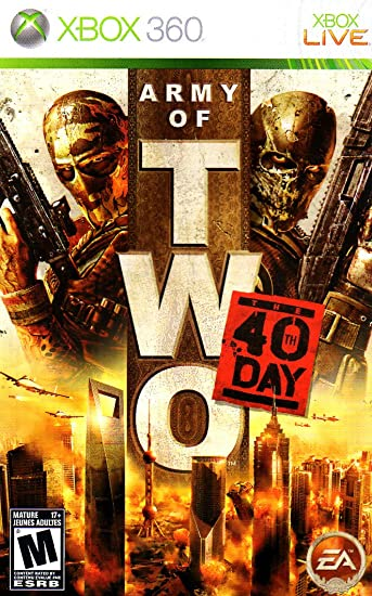 amazon com army of two 40th day xbox 360 instruction booklet rh amazon com For the New Xbox Controller Instruction Manual Xbox Instruction Manual PDF