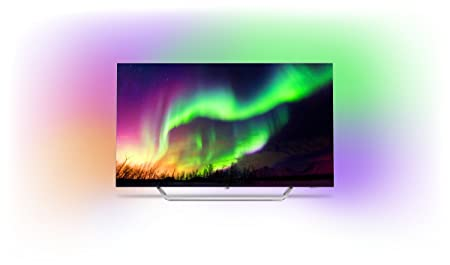 Philips 65OLED873/12 164cm (65 Zoll) LED-Fernseher (Ambilight, OLED 4K Ultra HD, Android TV)