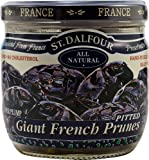 Charles Jacquin-St.Dalfour Prunes, Giant French, 7-Ounce (Pack of 6)