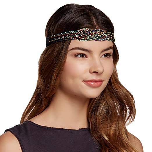 France Luxe Yacht Party Knot Headband Black Multicolor At Amazon