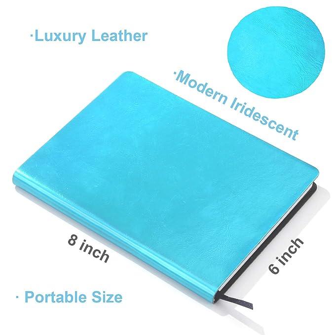 Amazon.com: Paperage - Cuaderno de escritura iridiscente de ...