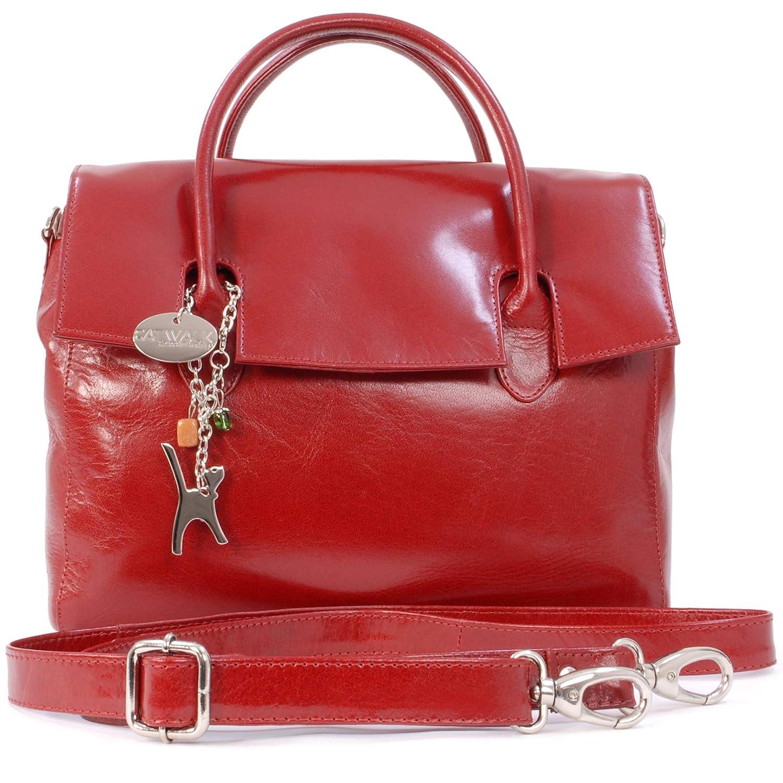 856ee494802b Catwalk Collection Handbags - Ladies  Vintage Leather Top Handle Cross Body  Bag - Women s Work Organiser Work - iPad Tablet Bag - ELLA