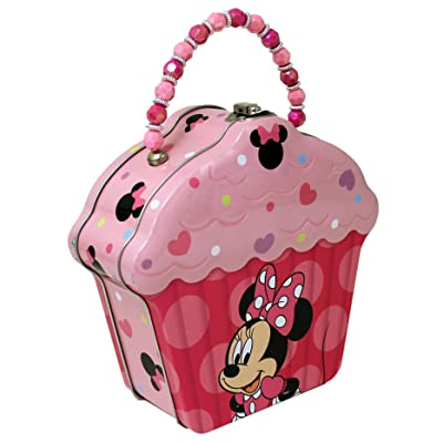 4SGM 15309 The Tin Box Company Cupcake Shape Tin Purse: Toys & Games