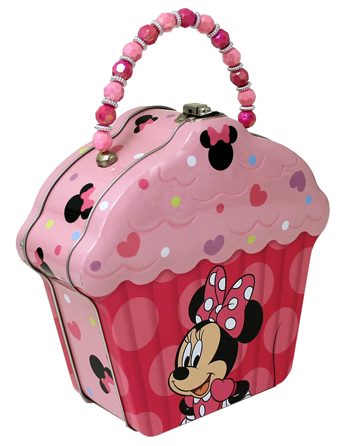 4SGM 15309 The Tin Box Company Cupcake Shape Tin Purse 523607-12