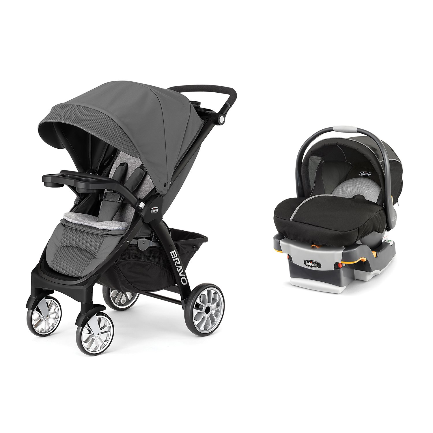 Amazon Chicco 3 in 1 Bravo LE Stroller KeyFit 30 Magic Car Seat & Base Travel System Baby