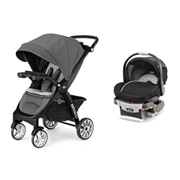 Chicco 3 In 1 Bravo LE Stroller KeyFit 30 Magic Car Seat