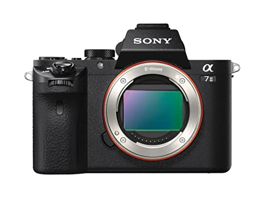 Sony Alpha a7II Mirrorless Digital Camera - Body Only Mirrorless System Cameras at amazon