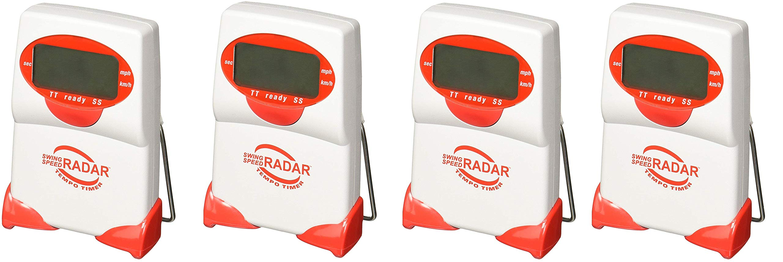 Sports Sensors Swing Speed Radar with Tempo Timer (Pack of 4) by Sports Sensors, Inc