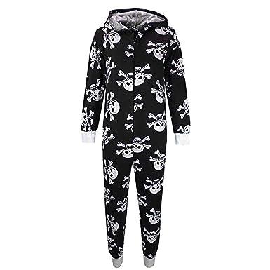 3ddc6bc02853 Amazon.com  Kids Girls Boys Skull Print Crop Top Legging Skater ...