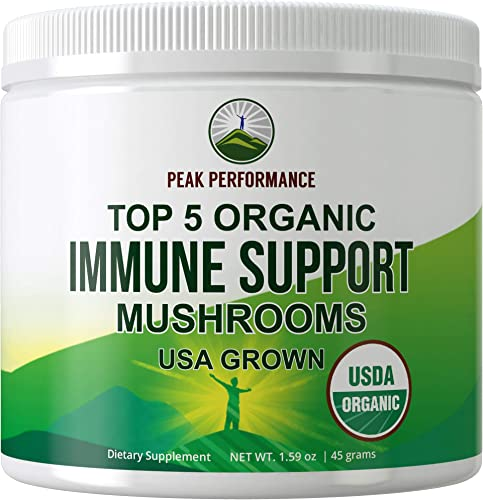 Immunity Support Mushroom Supplement