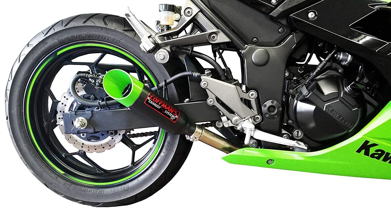 Amazon.com: Punta de escape corta para motocicleta deportiva ...