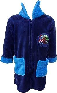 vestaglia bimbo in ciniglia full zip AVENGERS marvel art. 1744-3103 (blu, 4 anni)