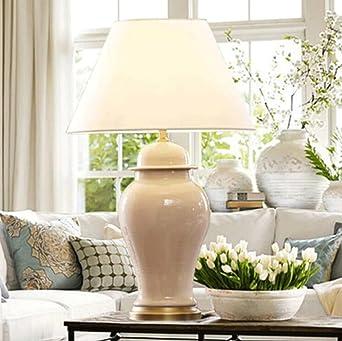 WYQmm Amerikanischen Stil Wohnzimmer Keramik Tischlampe Chinesisch  Neo Klassischen Modell Zimmer Schlafzimmer Nachttisch Lampe Einfache