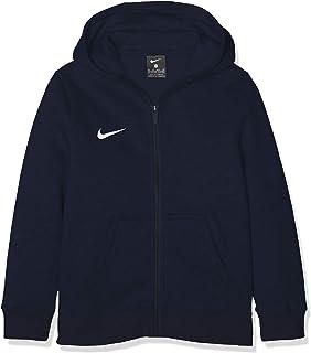 Nike Y FZ FLC Tm Club19, Felpa Full Zip Unisex Bambini AJ1458