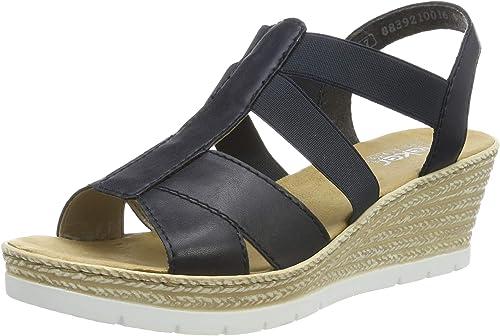 Rieker Damen 61903 14 Geschlossene Sandalen: 69tCk