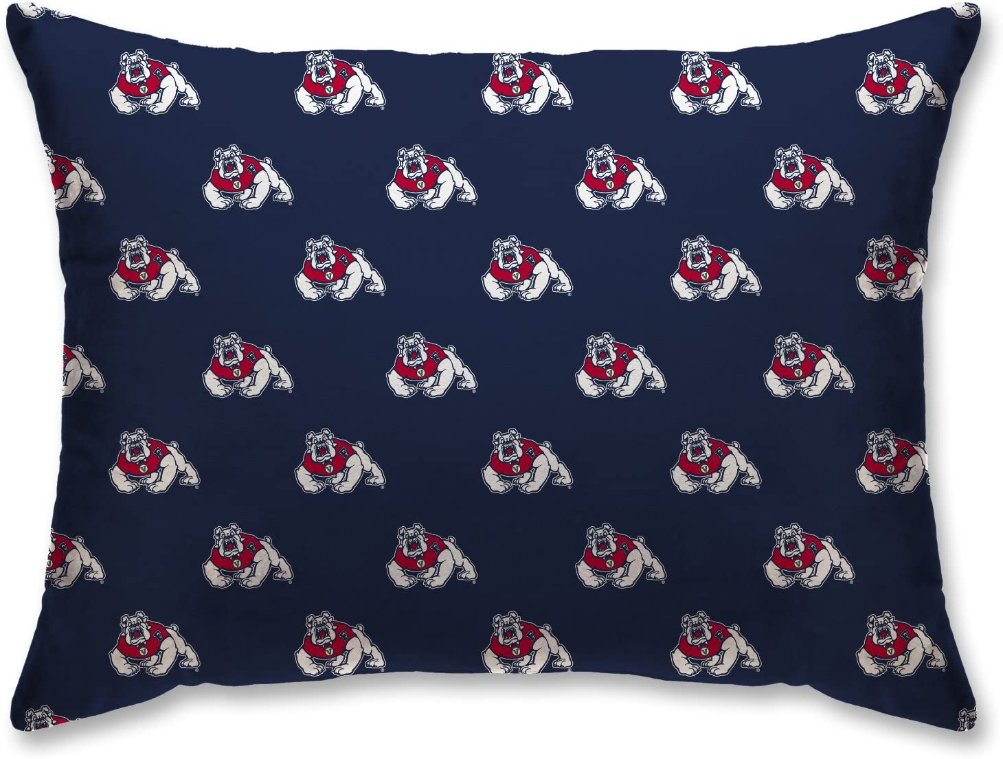 20 x26 Pegasus Sports NCAA Unisex NCAA Plush Logo Bed Pillow Team Logo