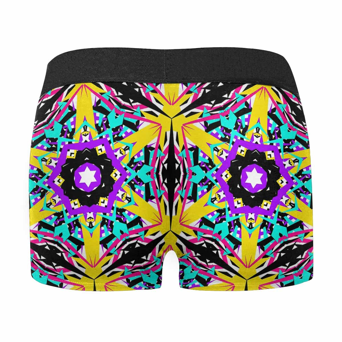 XS-3XL INTERESTPRINT Mens Boxer Briefs Funny Cartoon Cute Pink Fairy Unicorn