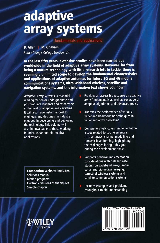 Adaptive Array Systems: Fundamentals and Applications: Amazon co uk