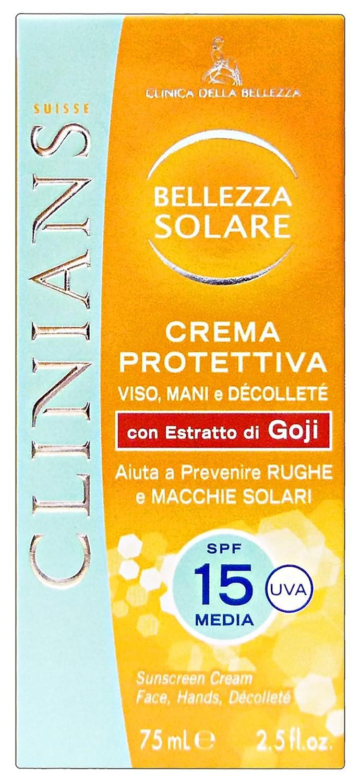 Set 6 CLINIANS FP15 Viso-Mani-Decolleté 75 Ml. Solarprodukte