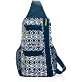 Amazon.com : Thirty One NEW Sling-Back Bag In Black - 4538 ...