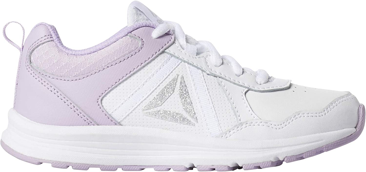 Reebok Almotio 4.0, Zapatillas de Trail Running para Niñas, Multicolor (White/Purple Freeze 000), 35 EU: Amazon.es: Zapatos y complementos